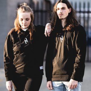 Black Streetwear Hoodie