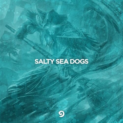 Salty Sea Dogs Logo